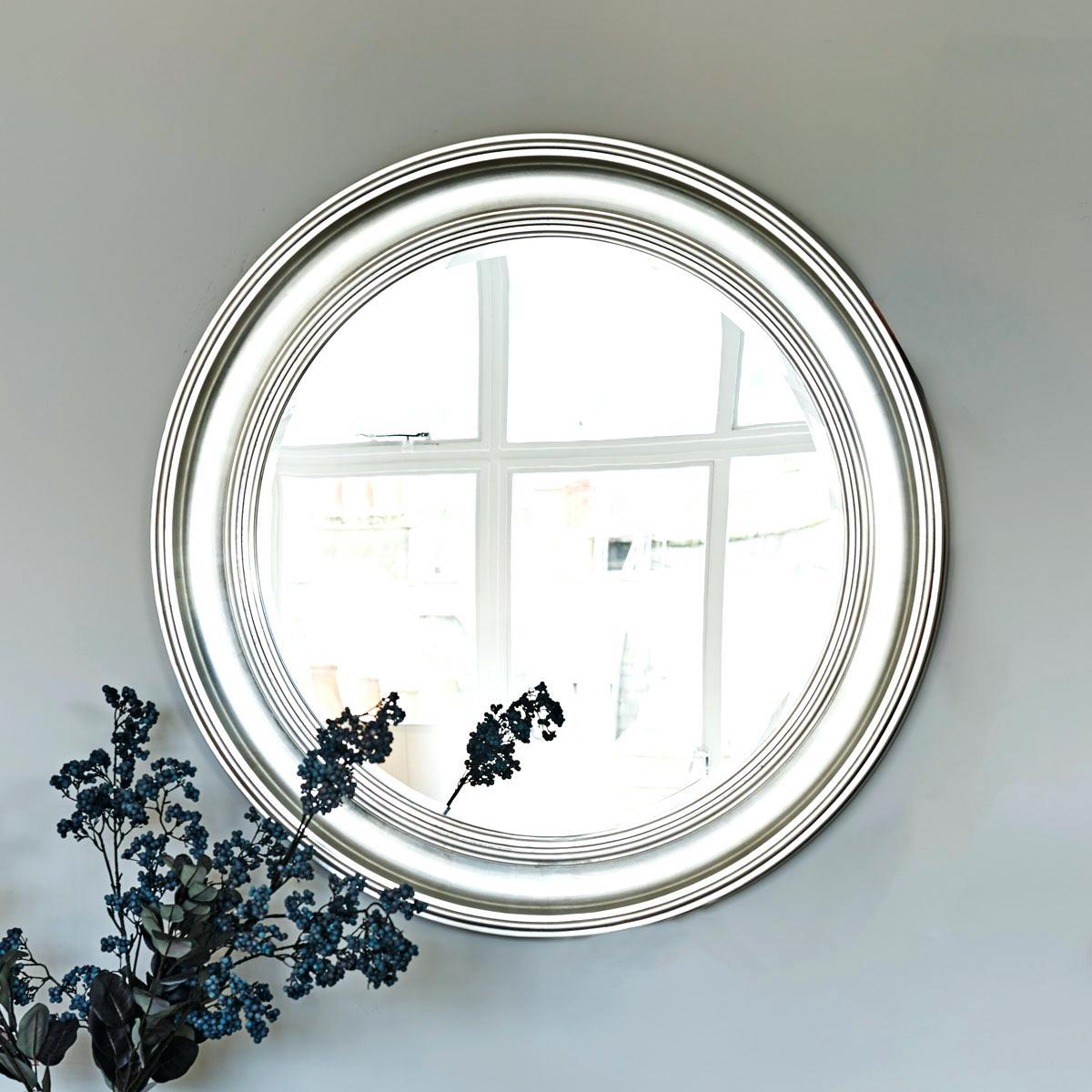 Round Mirrors For Sale Top 20 Large Round Silver Mirror Mirror Ideas