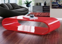 40 Photos Red Gloss Coffee Tables | Coffee Table Ideas