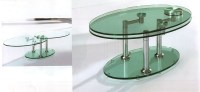 40 Inspirations Revolving Glass Coffee Tables | Coffee ...