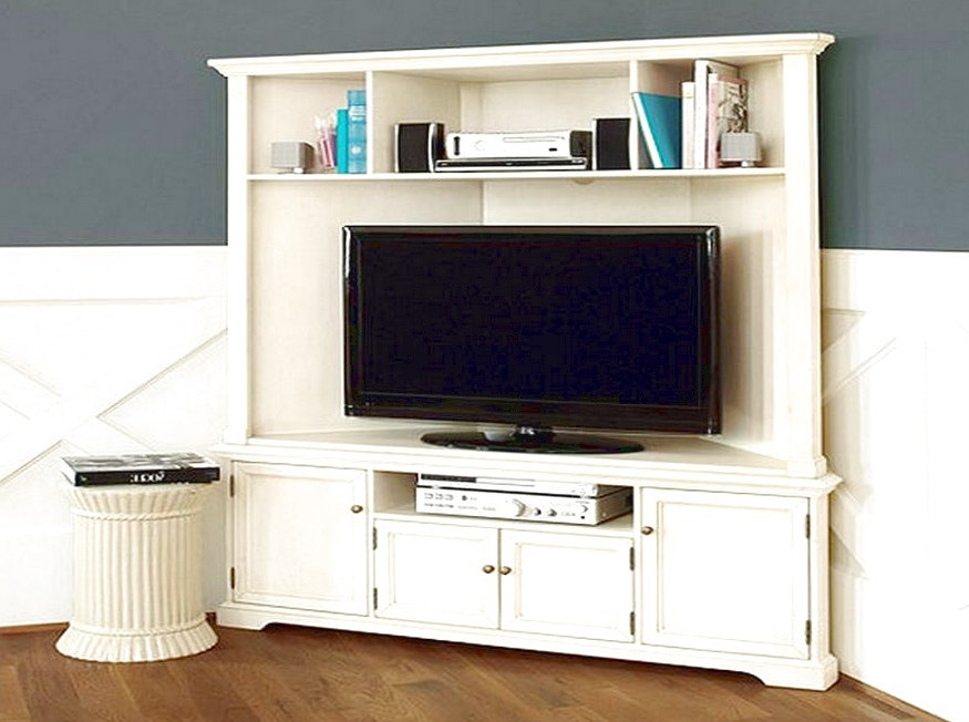 50 White Wood Corner Tv Stands Tv Stand Ideas