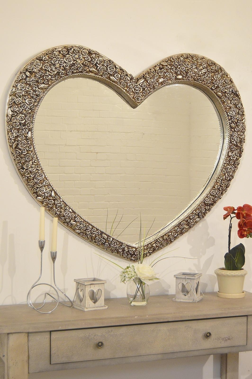 Unique Shaped Mirror Top 20 Heart Shaped Mirrors For Walls Mirror Ideas