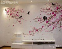20+ Painted Trees Wall Art | Wall Art Ideas