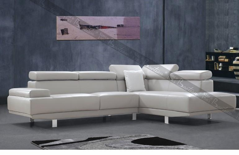 Italsofa Leather Sofa Italsofa Blair Taupe Leather Sofa ...