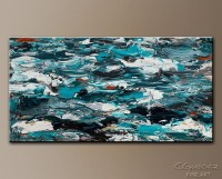 20+ Turquoise and Brown Wall Art | Wall Art Ideas