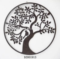 20 Best Wrought Iron Tree Wall Art | Wall Art Ideas