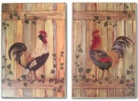 20 Photos Metal Rooster Wall Decor