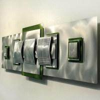 20 Best Lime Green Metal Wall Art | Wall Art Ideas