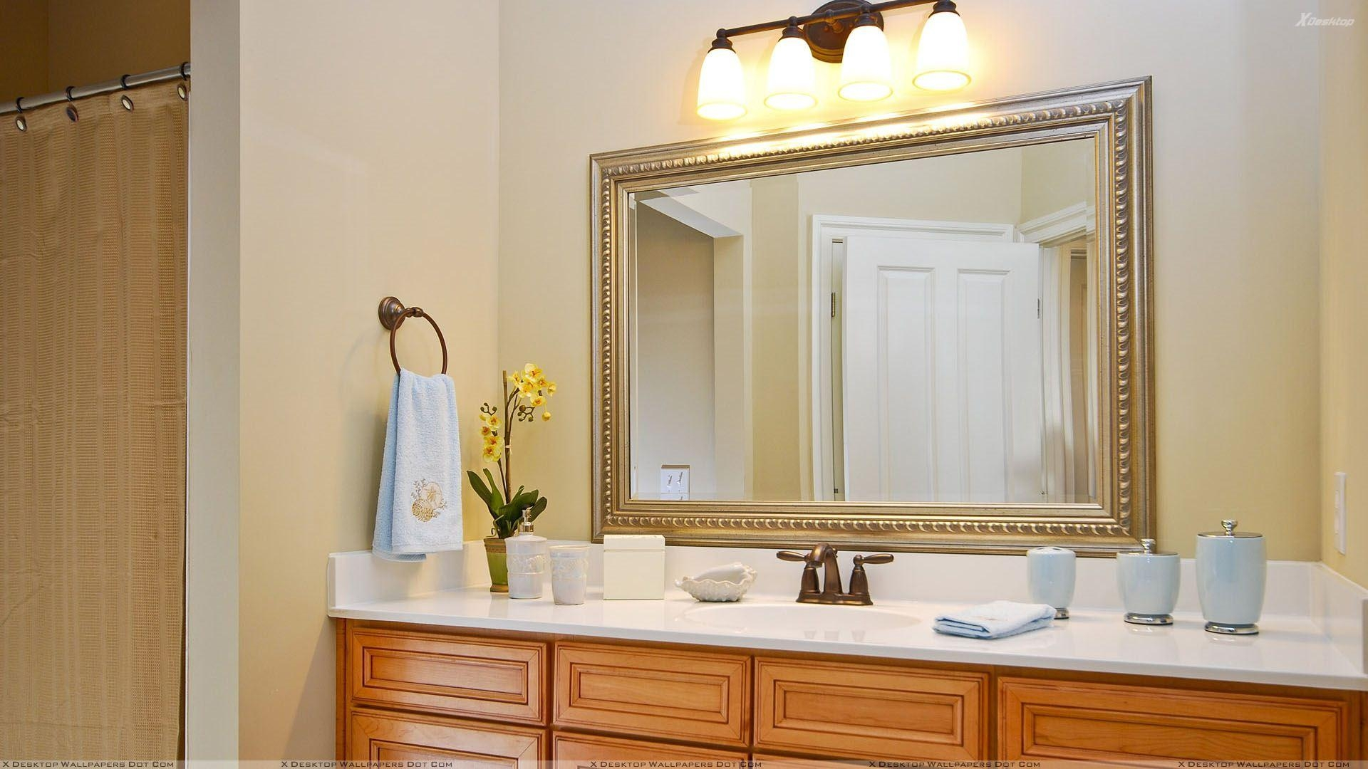 Large Bathroom Vanity Mirrors 20 Collection Of Decorative Mirrors For Bathroom Vanity