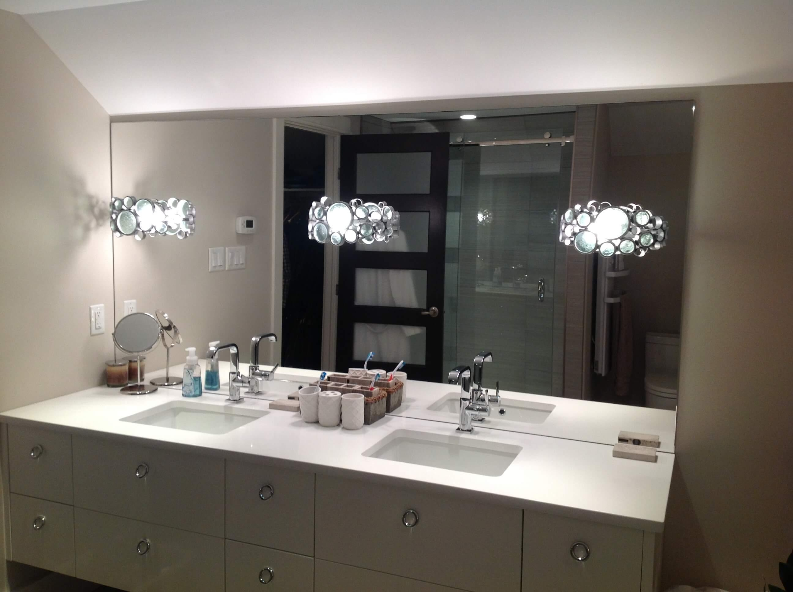 Vanity Mirrors 20 Collection Of Custom Bathroom Vanity Mirrors Mirror Ideas