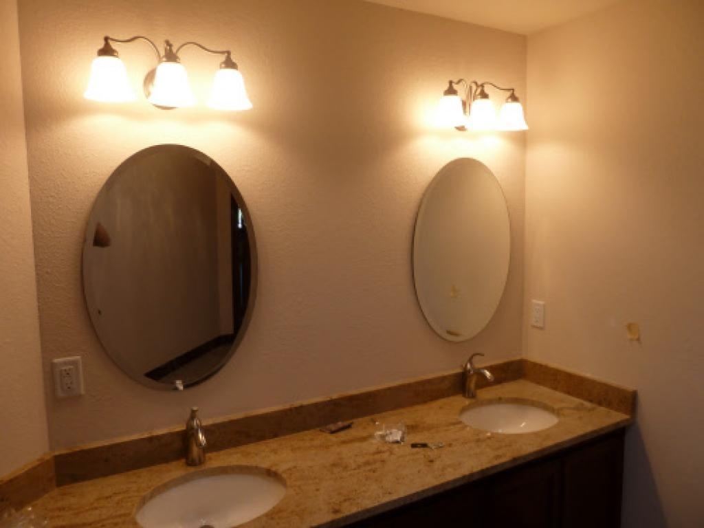 Inexpensive Bathroom Mirrors 20 Photos Oval Bath Mirrors Mirror Ideas