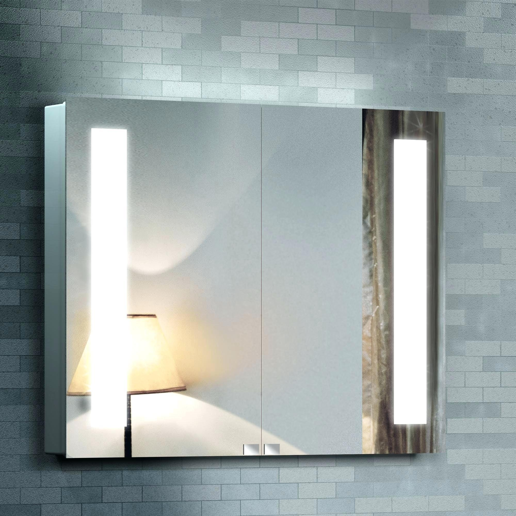 Bathroom Mirrors And Lighting 20 Inspirations Vanity Mirrors With Built In Lights