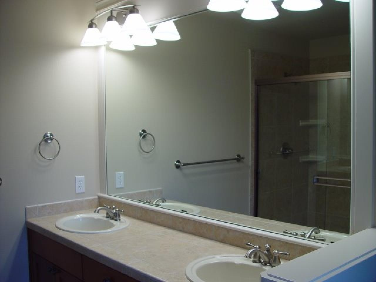 Large Bathroom Vanity Mirrors 20 Ideas Of Large Mirrors For Bathroom Walls Mirror Ideas