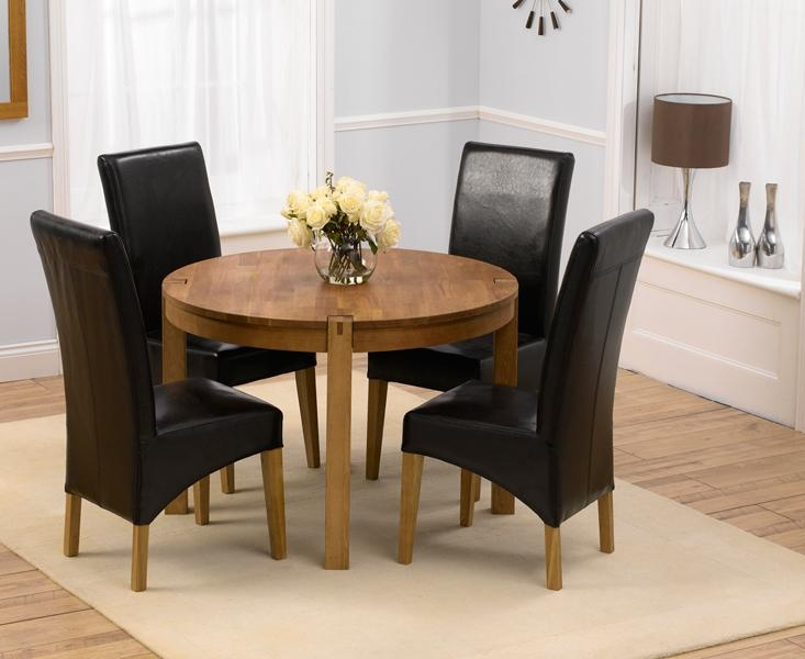 20 Photos Oak Round Dining Tables And Chairs Dining Room