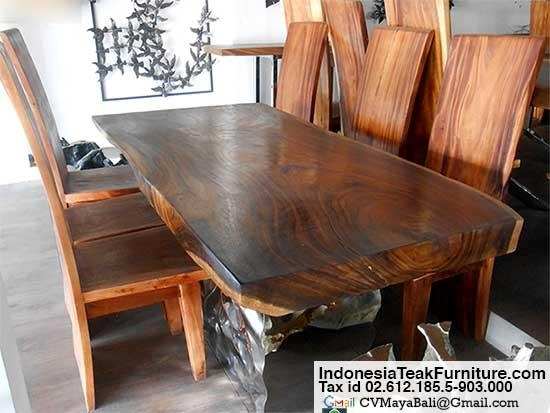 20 Inspirations Balinese Dining Tables Dining Room Ideas