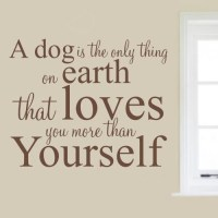 20 Best Ideas Dog Sayings Wall Art | Wall Art Ideas