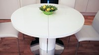 20 Inspirations Round Extending Dining Tables Sets ...