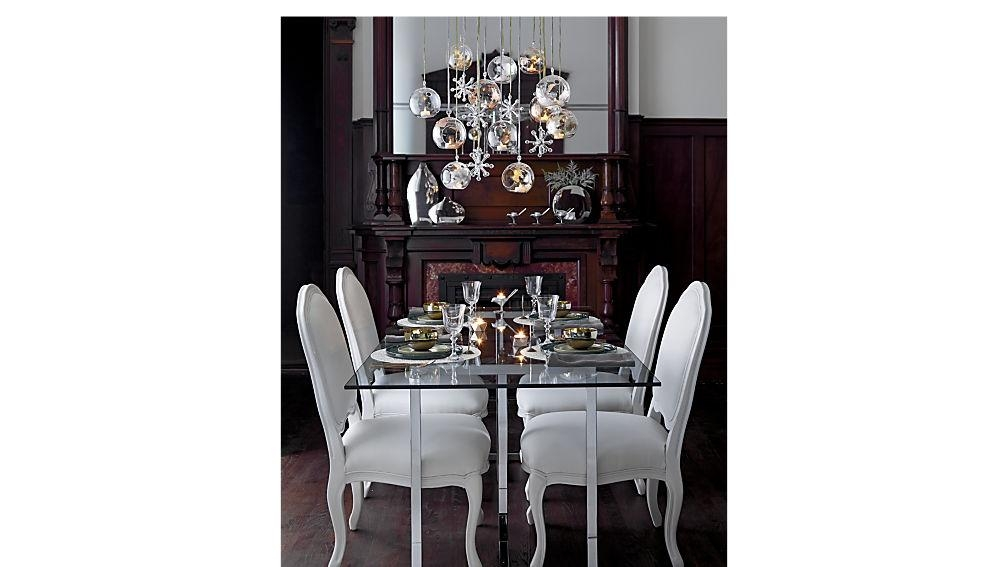 Top 20 Chrome Dining Tables And Chairs Dining Room Ideas