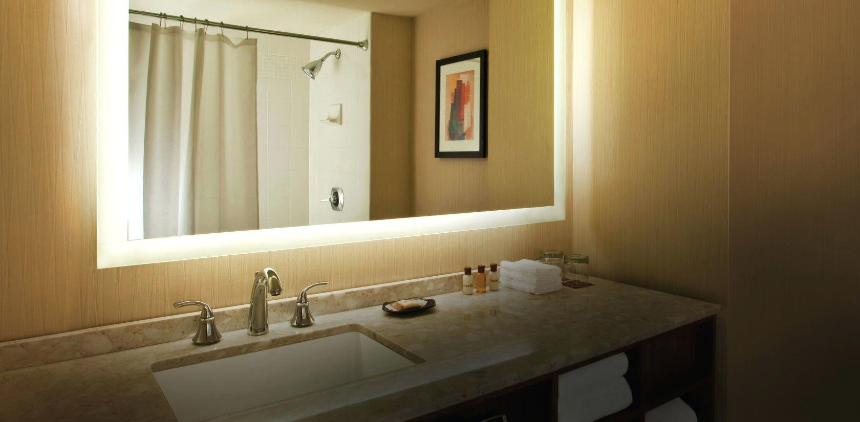 Makeup Vanities With Lighted Mirrors Lighted Vanity Wall Mirrors Mirror Ideas