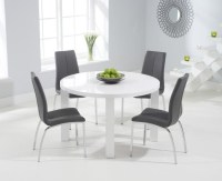 20 Best High Gloss White Dining Tables and Chairs | Dining ...