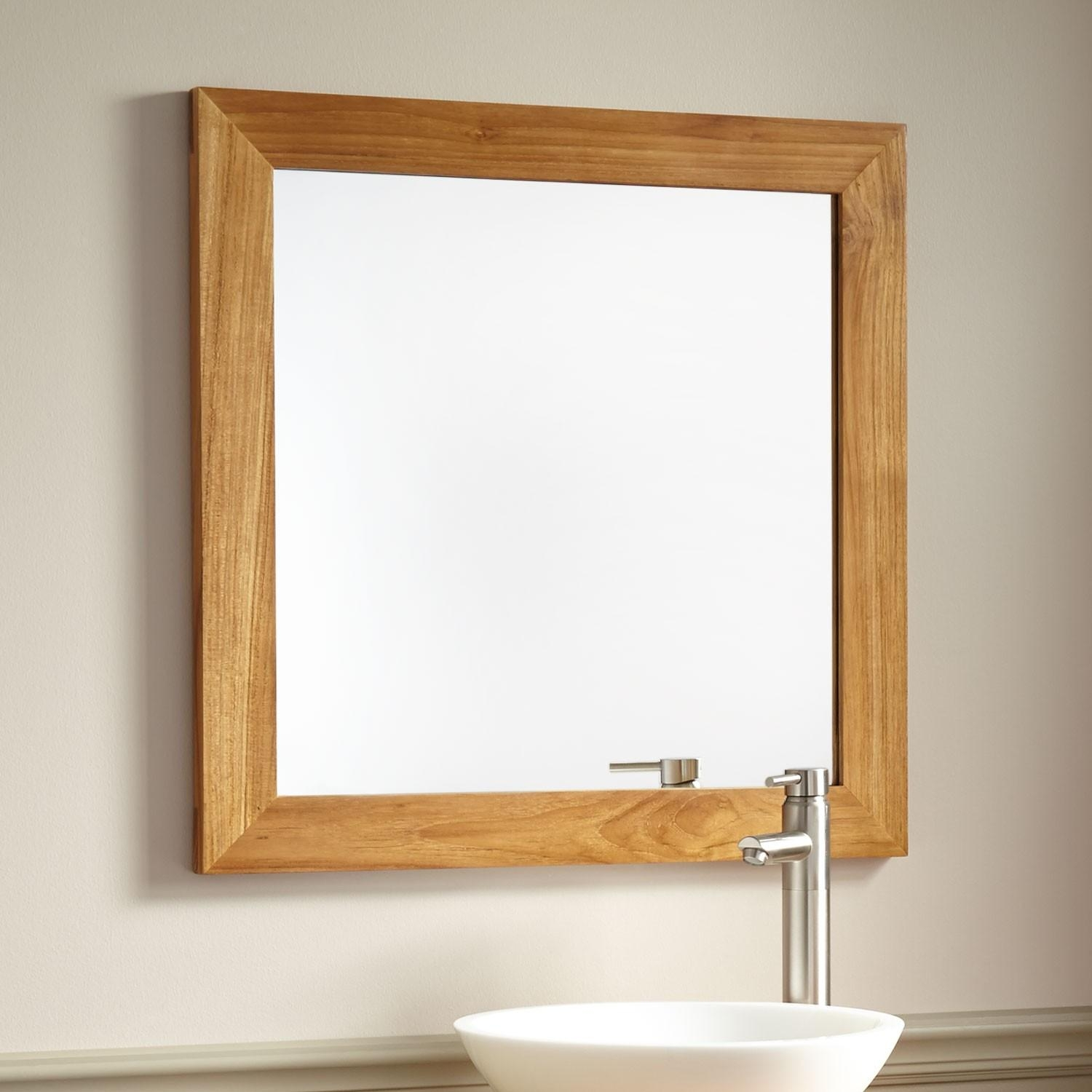 Large Mirrors Houston 20 Inspirations Natural Wood Framed Mirrors Mirror Ideas