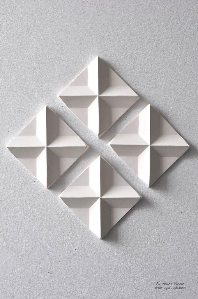 Wall Art: 3D Triangle Wall Art (#10 of 20 Photos)