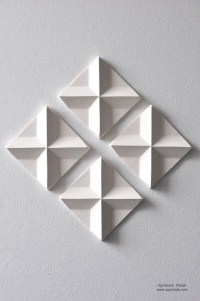 Wall Art: 3D Triangle Wall Art (#10 of 20 Photos)