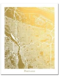 20+ Portland Map Wall Art | Wall Art Ideas