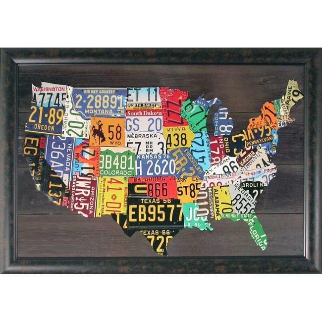 20 Best Usa Map Wall Art