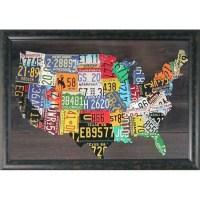 20 Best Usa Map Wall Art | Wall Art Ideas