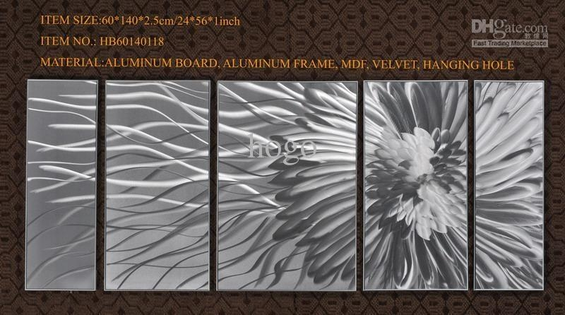 Top 20 Abstract Aluminium Wall Art