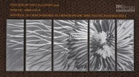 Top 20 Abstract Aluminium Wall Art | Wall Art Ideas