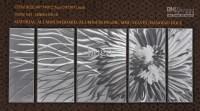 Top 20 Abstract Aluminium Wall Art   Wall Art Ideas