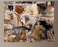 Black and Gold Abstract Wall Art | Wall Art Ideas