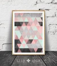 Top 20 Pink Abstract Wall Art   Wall Art Ideas