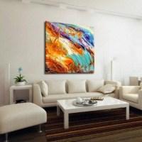 Wall Art: Abstract Oversized Canvas Wall Art (#9 of 20 Photos)