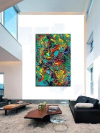 Wall Art: Abstract Oversized Canvas Wall Art (#11 of 20 ...