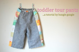 toddler pants tutorial
