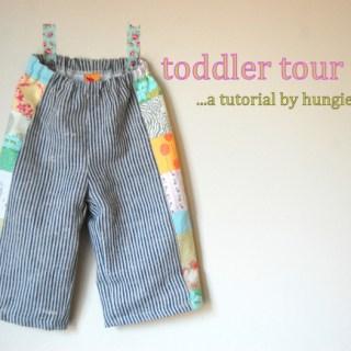 Featured: Toddler Tour Pants Tutorial