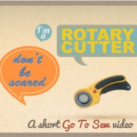 how to use a rotary cutter (short video)