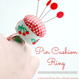 Featured: Pin Cushion Ring Tutorial