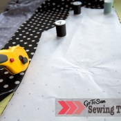 Sewing Pattern Tips: Cut out patterns with a rotary cutter