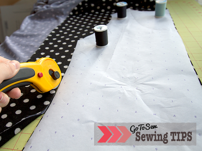 Sewing Tips Cutting Out Patterns Sewtorial