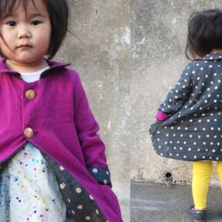 Featured: Reversible Spring Coat Tutorial