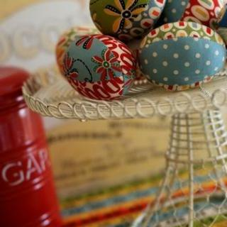 Featured: Fabric Easter Egg Tutorial