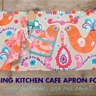 Featured: Charming Kitchen Cafe Apron