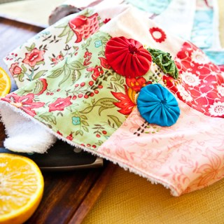 Featured: Easy Sew Kitchen Towel Tutorial