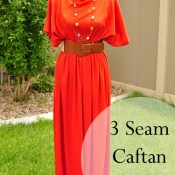 three seam dress