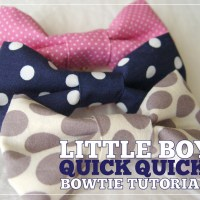 baby boy bow tie