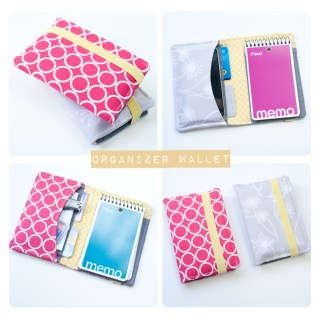 Featured: Fabric Organizer Wallet Tutorial