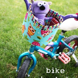 Featured: Bike Bucket Tutorial